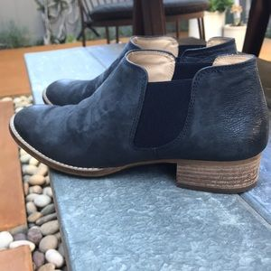 Paul Green Suede Leather Booties